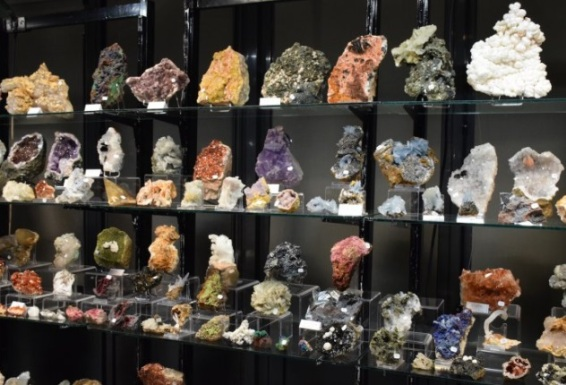 stands minéraux