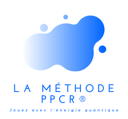 logo PPCR uni top + phrase - soin energetique quantique coaching revelation spirituel therapie breve therapeute bordeaux